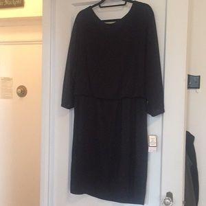 Black Nine West shimmer dress